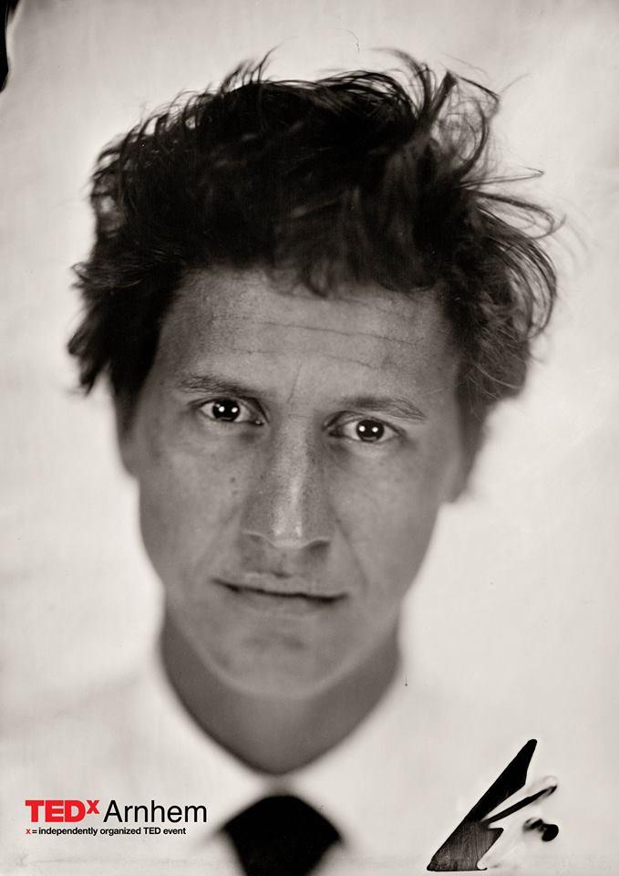 Portret Peter van Hal Tedtalk Ted Tedx Arnhem