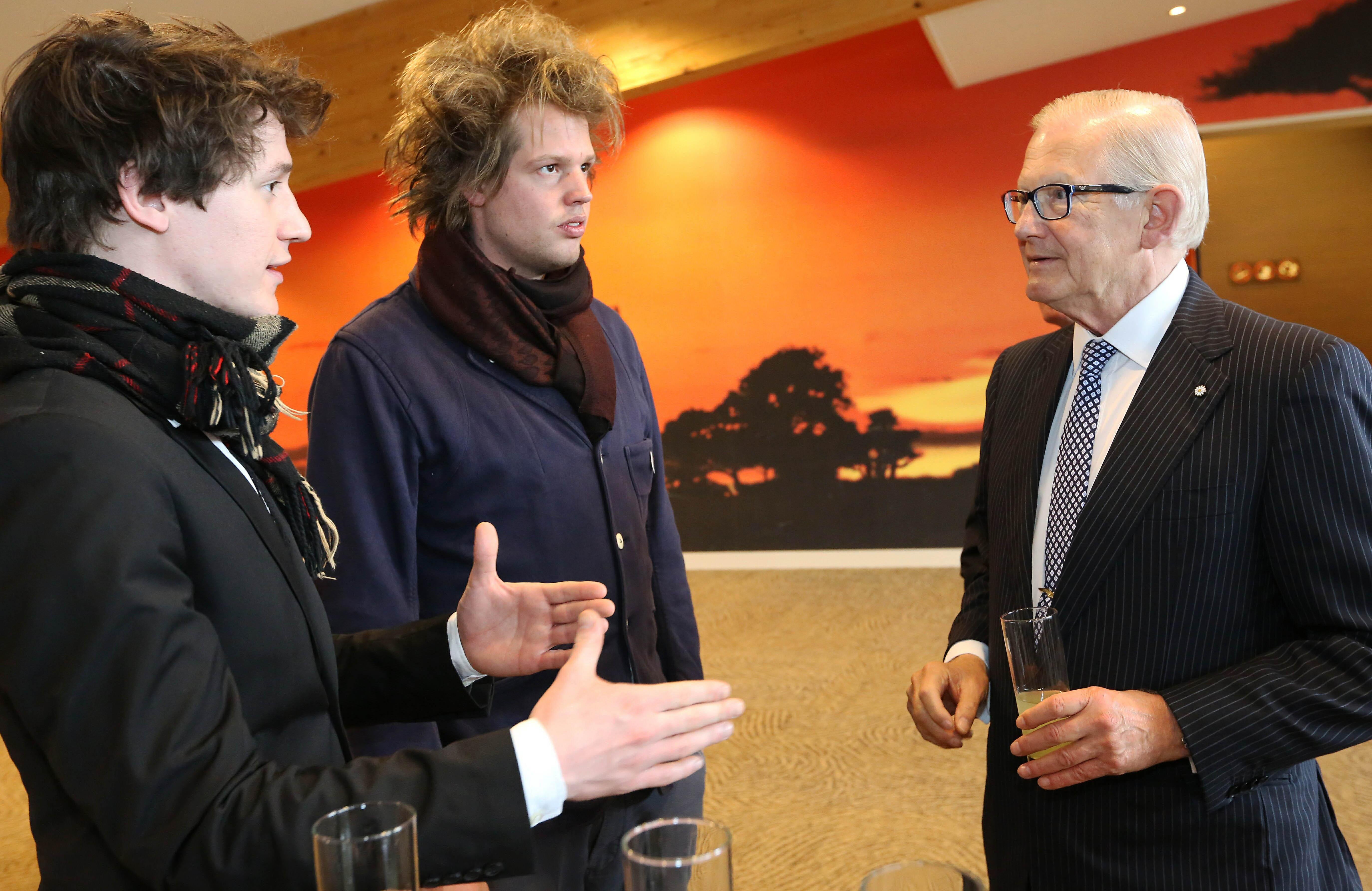 Pieter van Vollenhoven bezoekt Burgers' Zoo