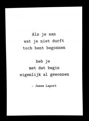 Jesse Laport, poëzie, cadeau, stadsdichter, spoken word