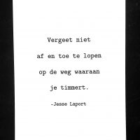 Jesse Laport, poëzie