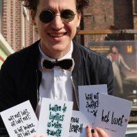 Ansichtkaarten jesse laport poëzie poezie spoken word arnhem cadeau shopping stadsdichter